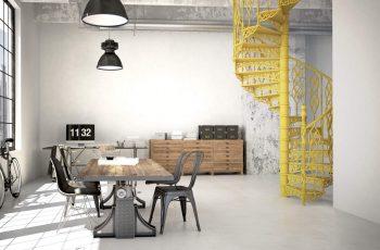decoração industrial